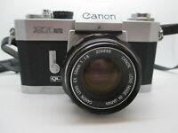 Canon EX Auto 35 / Reflex QL, Canon Lens EX 50 1.8  35MM SLR film camera