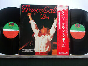 FRANCE GALL LIVE  Made in Japan + OBI & 2 inserts