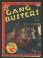Gang Busters #9, April/May 1949