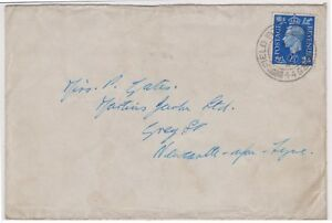 (K114-4) 1942 GB WWII 2 1/2d field post 449 to Newcastle (D)