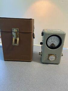 Bird Thruline Wattmeter - Model 43