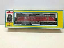 ATLAS HO GA SD24 DIESEL RD #502 LOCOMOTIVE BURLINGTON DC USED