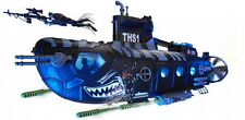 Kid's Attack SubmarineTorpedo Launcher Soldiers Playset True Heroes Sentinel 1