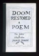 JAMES PROSEK Doom Restored 1995 - a very rare early illustrated poem