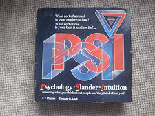 PSI GAME PSYCHOLOGY SLANDER INTUITION 3-7 PLAYERS TEENAGER TO ADULT PARADIGM