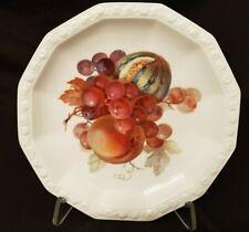 Art Deco Porzellan Teller Rosenthal Maria, Früchte Dekor TOP Zustand (G728)xx
