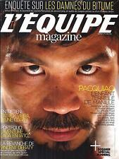 L'EQUIPE MAGAZINE N°1711 2 MAI 2015  PACQUIAO/ VIEIRA/ LADA EN WTCC/ DEBATY