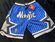 Men's Orlando Magic Mitchell & Ness Basketball Shorts 1992-93 Vintage Blue
