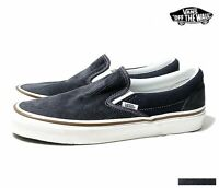 Details zu VANS SCHUHE SLIP ON CRACKLE LEATHER WHITE WEISS LEDER VZMRFCN