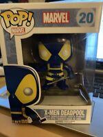 Funko POP! Marvel X-Men Deadpool 20 Rare & Vaulted w/Pop Protector  {FPB5}