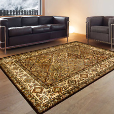 Teppich Orientteppich Klassisch Perser Strapazierfähig Preiswert Olive Beige