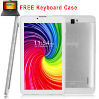 """Attractive 7"""" Android 9.0 Tablet PC White WiFi Google Play & QWERTY Keyboard"""