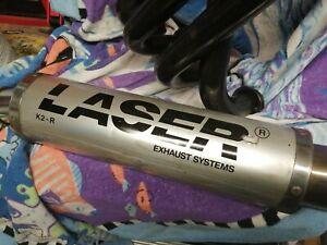 Kawasaki gpz900r  4 into 1 laser  exhaust