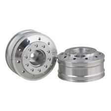 2PCS Aluminium Alloy 12mm Hex Joint Front Wheel Rims for TAMIYA RC1:14 Model Car