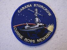 NASA PATCH - CABANA STURCKOW CURRIE ROSS NEWMAN - SHUTTLE ENDEAVOUR