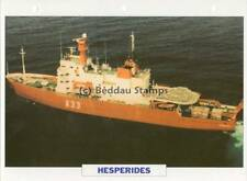 1990 HESPERIDES Auxiliary Support Ship / Spain Warship Photograph Maxi Card