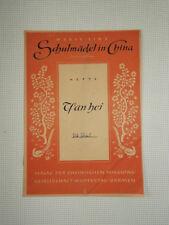 Tsan Hoi, Schulmädel in China. Marie Linz, Rheinische Missionsgesellschaft 1949