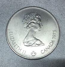 "CANADA 5 DOLLAR J.O MONTREAL ( JEUX OLYMPIQUES ) 1976 "" MARATHON "" en ARGENT."