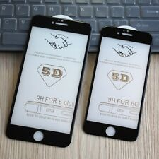 5D Curve Edge Premium Tempered Glass Film Screen Protector for iphone 7 8 plus X