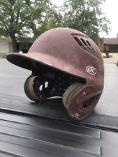 New Rawlings Youth Junior 70Mph Baseball Batting Helmet Matte Blue 6 1/2 - 7 1/8