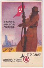 SPAIN SPANISH CIVIL WAR PRODUCID COMISARIADO REPUBLICAN PROPAGANDA PC - SP27