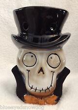 Yankee Candle Boney Bunch Halloween 2013 Boney Head Tart Wamer ~ NIB