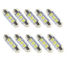 10x 36mm LED 3 SMD Soffitte COB Innenraum Beleuchtung Leuchte Weiß Deutsche Post