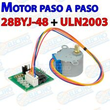 Motor paso a paso 28BYJ-48 5v + driver ULN2003 4 fases stepper - Arduino Electro