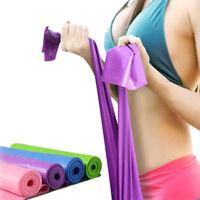 1.5m GYM Yoga Pilates Resistance Rubber Crossfit Fitness Elastic Band Strap