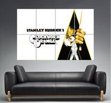 Naranja Mecánico Cartel Cine Wall Poster Película Lámina Clásico formato A0