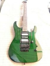 Jackson Performer Electric guitar MIJ green flame top!!!