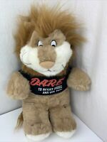 "D.A.R.E. To Resist Drugs & Violence 19"" Plush Lion Stuffed Animal Toy 1999 VTG"