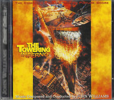TOWERING INFERNO John Williams 2 CD SET + BONUS SCORES NEW & SEALED