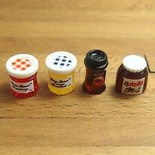 1xDollhouse Miniature 1:12 Kitchen Food Jam Coffee Condiment  Decor Random DIY
