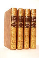 LESAGE. HISTOIRE DE GIL BLAS DE SANTILLANE. 1771. 4 VOLUMES. 30 PLANCHES H-T.