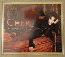 CHER The Music's No Good Without You (2001) UK 3-track CD single
