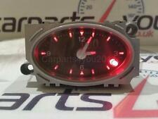 FORD MONDEO MK3 01-07 BLACK FACED RED LED ANALOGUE TIME CLOCK + FREE UK POST