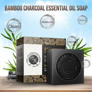 Women Private Intimate Bamboo Charcoal Vagina Whitening Soap Skin Oil-control#