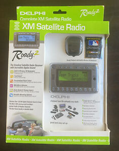 Delphi XM Satellite Radio Roady2-NIBFor Any Vehicle NO Cassette Player Required