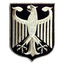GERMAN EAGLE COAT ARMS GERMANY IRON-ON PATCH BUNDESADLER DEUTSCHLAND SIZE M 3.5""