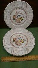 "Set of 4 Royal Doulton England 8 1/2"" Salad Plate Grantham Pattern"