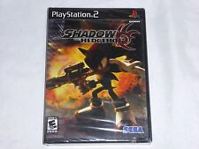 NEW Shadow the Hedgehog Playstation 2 Game PS2 SEALED (Read) Sega sonic NTSC