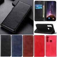 Luxury Wallet Leather Flip Case Cover For Motorola Moto G9 Plus G7 Plus G8 Play