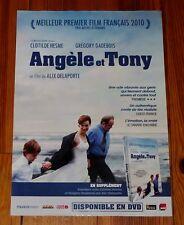 AFFICHE CINEMA DVD 2010 ANGELE ET TONY HESME GADEBOIS ALIX DELAPORTE PRIME