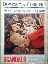 La Domenica del Corriere 7 Novembre 1965 Galera Fenaroli Giulietta Papa Einstein