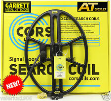 """New CORS CANNON 14.5""""x10.5"""" DD search coil for Garrett AT GOLD + cover & bolt"""