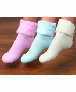 2/3 Pairs Ladies Thick Warm Fluffy Fleece Cosy Ankle Thermal Lounge Bed Socks