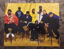 GFA Method Man GZA x4  * WU-TANG CLAN * Signed 11x14 Photo PROOF AD3 COA