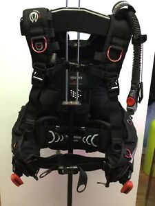 MARES HYBRID BCD with MRS Plus Weight Pockets - Size M/L SCUBA - As Pictured