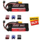 Venom DRIVE LiPo Battery 2S 7.4V 2000mAh 35C w/ Universal 2.0 Plug (2)